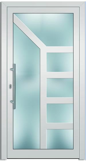 Gut Kunststofftüren mit Glasfüllung, Konstruktionstüren, Glastüren  XW02