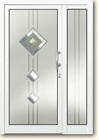 aluminiumhaustueren mit glasf llung haust ren mit vollverglasung 2 fach und 3 fach designglas. Black Bedroom Furniture Sets. Home Design Ideas